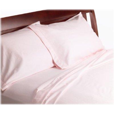 Wamsutta 100% Cotton Luxury Flannel Standard Pillowcase Pair, Blush